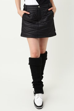 WH/高密度タフタ薄中綿スカート (WOMENS)