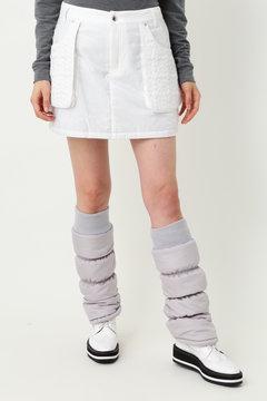 WH/高密度タフタキルト中綿スカート(WOMENS)