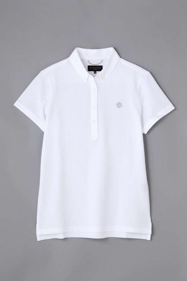 BK/デラヴェプレミアムゴールド サッカープリントシャツ