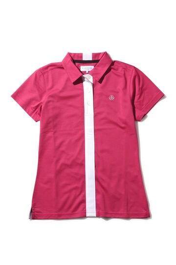 WH/ハイゲージハニカム半袖ポロシャツ