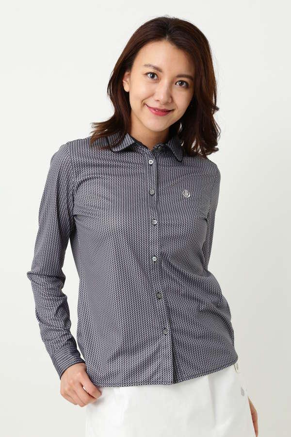 WH ハイゲージ スムース ヘリンボンシャツ (WOMENS)