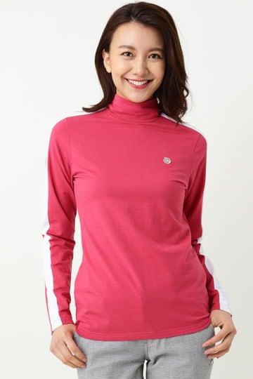 WH/ベア天タートルネックシャツ (WOMENS)