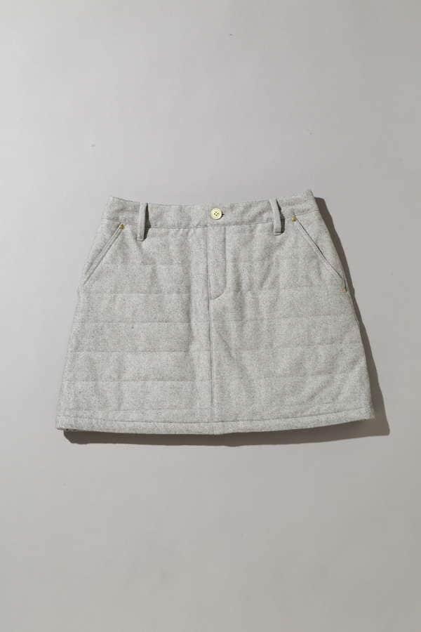 【Special Price】BK/モイスチャーピーチスカート (WOMENS)
