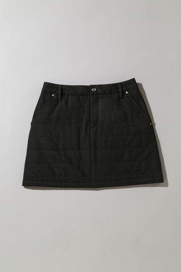 BK/モイスチャーピーチスカート (WOMENS)