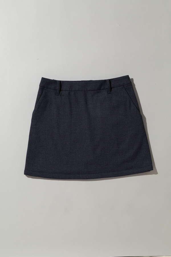【Special Price】BK/バーズアイスカート (WOMENS)