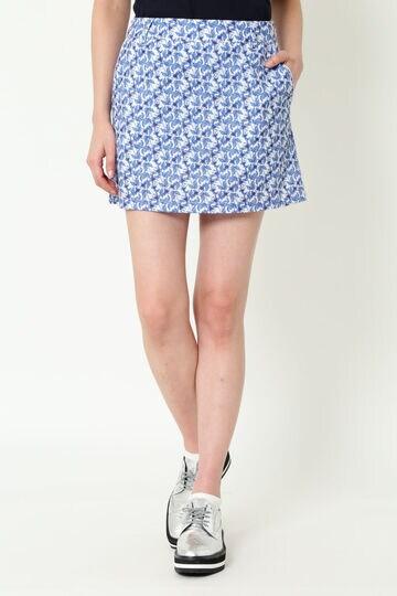 WH/2WAYストレッチ アザミプリントスカート (WOMENS)
