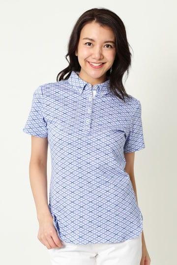 WH/クロスダブルジャガードシャツ (WOMENS)