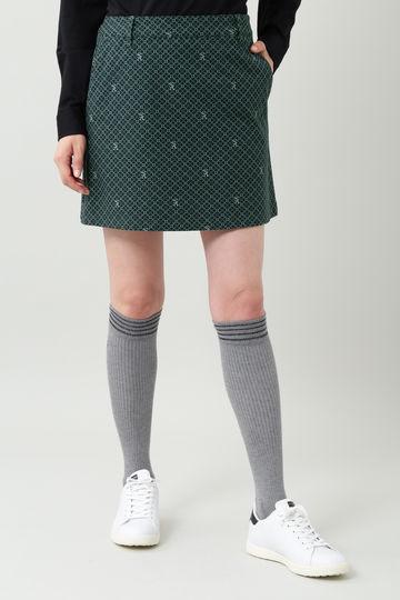 ジオメトリックプリントスカート (WOMENS)