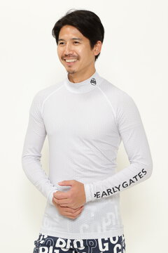BEATRIX PLIS 長袖 ハイネック カットソー(MENS)<PG SMILE>