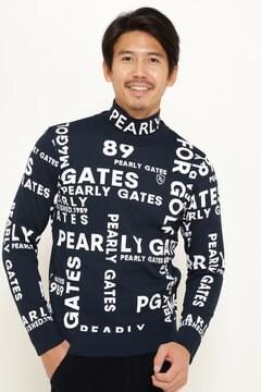 PY ロゴ ジャガード クルーネック ニット プルオーバー <LOGOシリーズ>