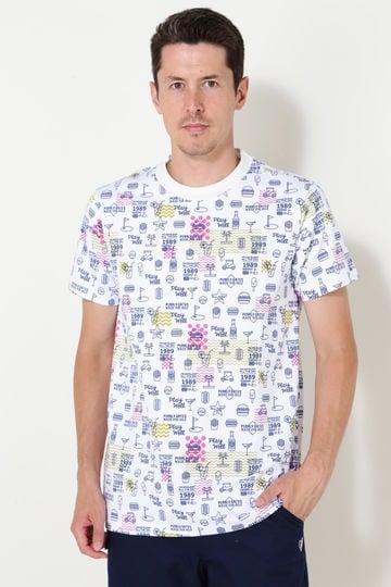クールマックス プレーティング天竺 半袖Tシャツ