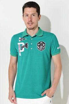 ペンタス×サラクール タックカノコ 半袖ポロシャツ