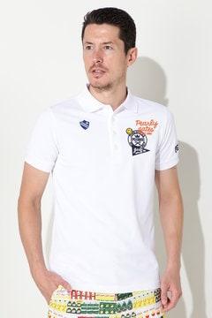 クリアーコット カノコ半袖ポロシャツ