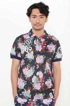 カノコ LIBERTY 半袖ポロシャツ