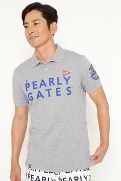 ロゴ カノコ 半袖ポロシャツ