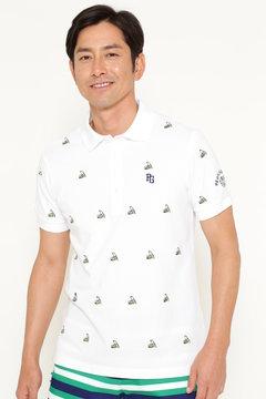 バナナエンブ カノコ 半袖 ポロシャツ