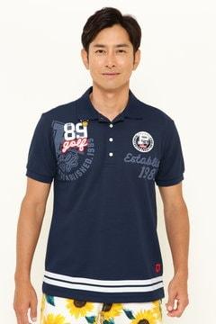 ペンタス × サラクール カノコ 半袖ポロシャツ <無地>