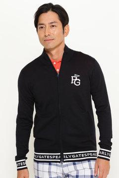 袖裾 ロゴ フルジップ ジャケット