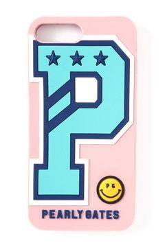 P ロゴ iPhoneケース (iPhonePlus6・7対応)