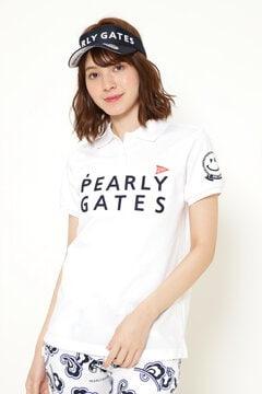 2段ロゴ 半袖 ポロシャツ