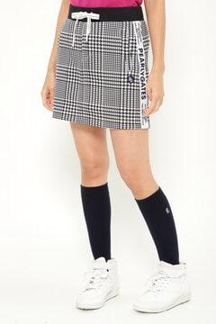 コットンダンボール グレンチェック スカート <GLENCHECK SERIES>