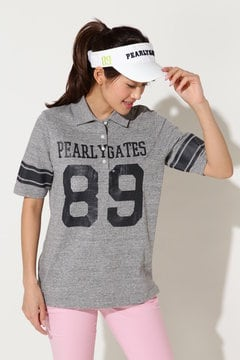 89ロゴ 半袖ポロシャツ
