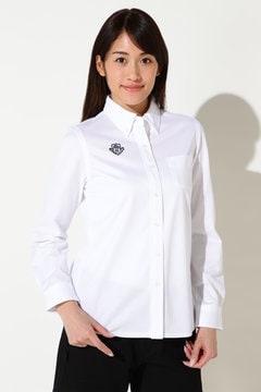 ツイルカノコ ボタンダウン カットシャツ(LADIES)