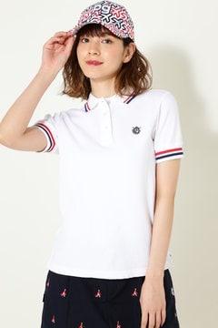 ストレッチミニバブル 半袖 ポロシャツ