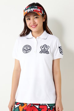 ディライトカノコ 半袖ポロシャツ