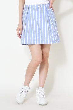 オックスモール 先染めストライプ スカート