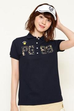 プライムフレックス パンチロンカモプリント カノコ 半袖ポロシャツ