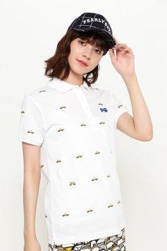タックカノコ タクシーエンブ 半袖ポロシャツ