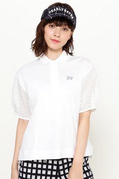 クールマックス カノコ シルケット 半袖ポロシャツ