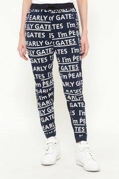テックスブリット パンツ <I'm PEARLY GATESロゴプリント>
