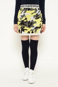 カモ柄 ニットスカート