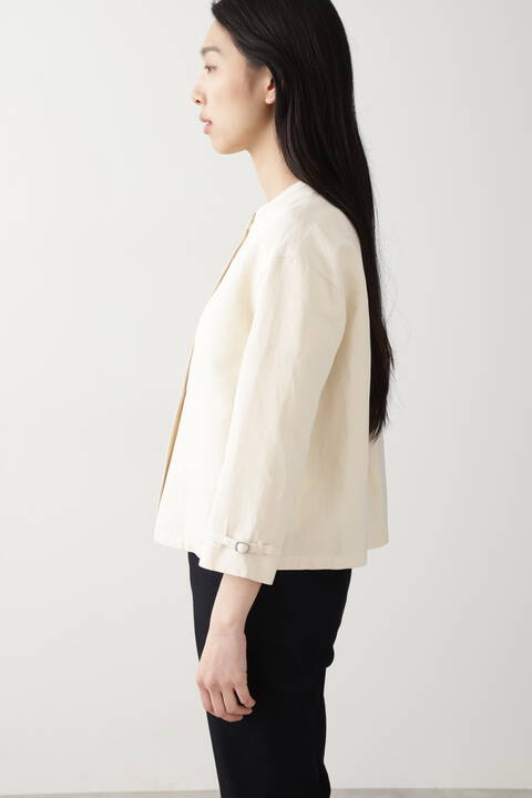 ≪Japan couture≫綿麻ギャバブラウス