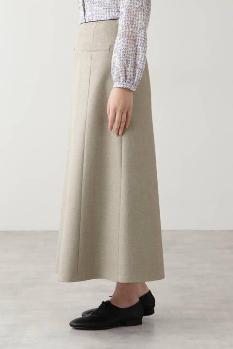 リネンボンディングスカート