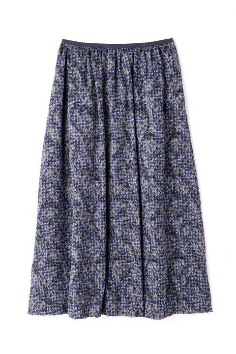 幾何プリントスカート