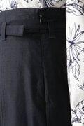 スラブバックサテンスカート
