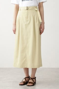 【先行予約 4月下旬-5月上旬入荷予定】リサイクルポリエステルツイルスカート