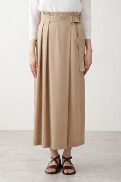 【先行予約 4月下旬-5月上旬入荷予定】ウォッシュサテンスカート≪Rue dieu a la HUMAN WOMAN≫