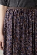 アフリカンプリントスカート