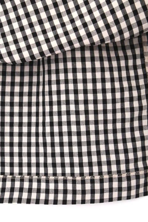 ギンガム・ストライプスカート