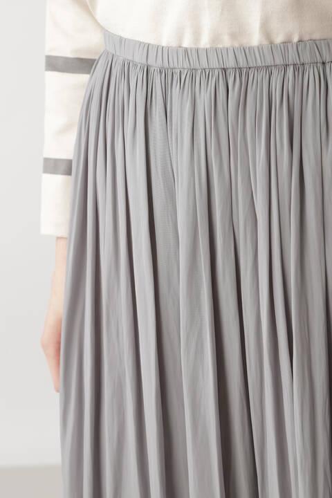 《arrive paris》ギャザーマキシスカート