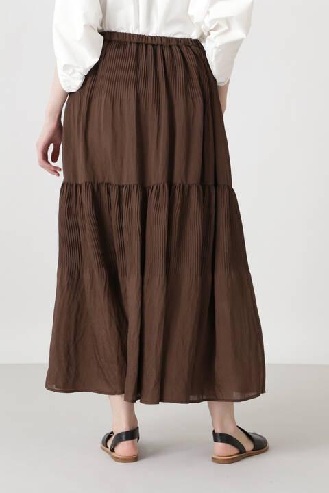 《arrive paris》プリーツティアードスカート