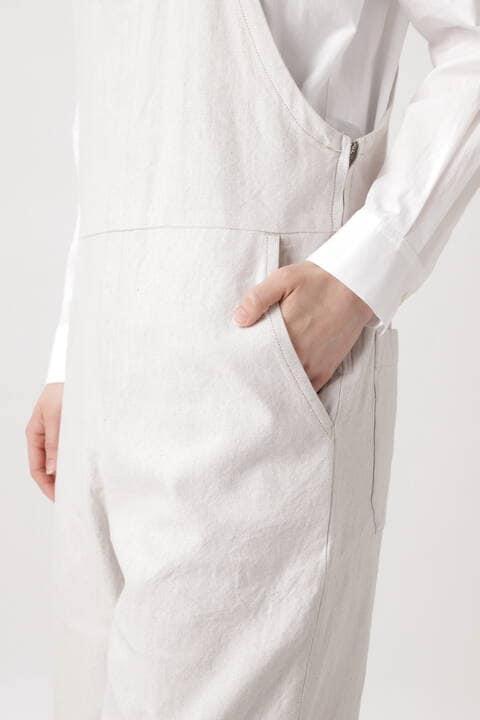 ≪Japan Couture≫リネンコットンオーバーオール
