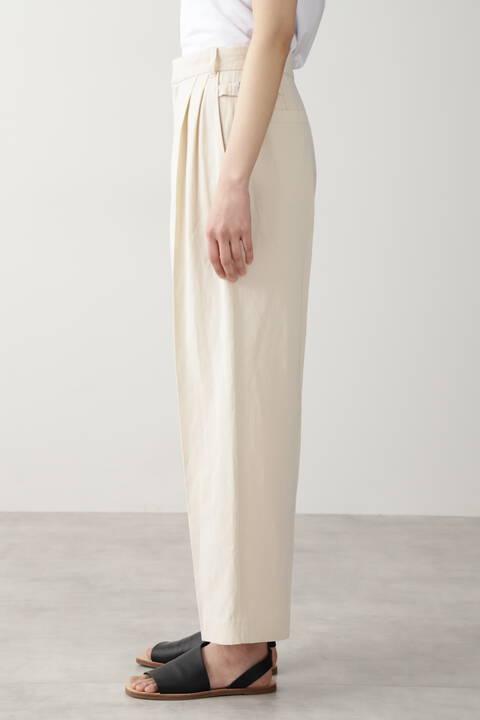 ≪Japan couture≫綿麻ギャバパンツ