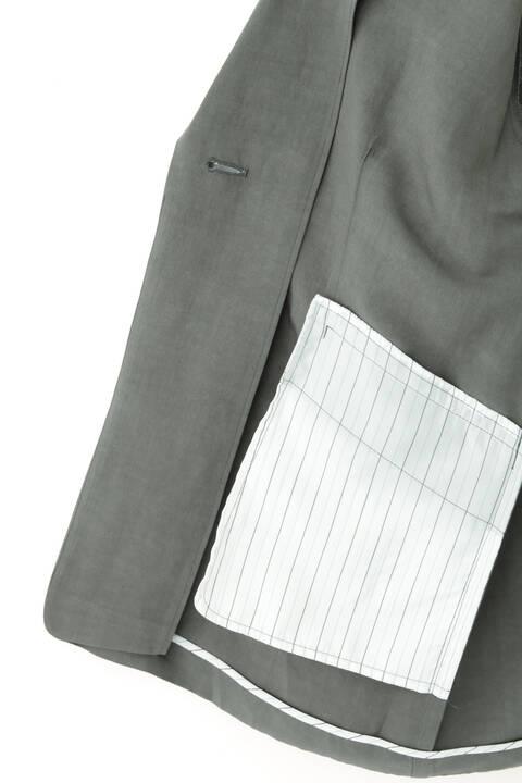 ヴィスコースリネンジャケット