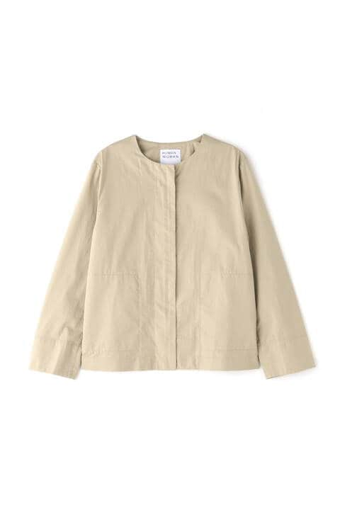 コットンリネンツイルジャケット
