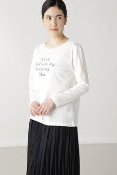 ロゴロングTシャツ